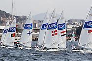 2016 Olympic Sailing Games-Rio-Brazil, ANP Copyright Olympische Spelen Zeilen, ls-DEN- Michael Hansen- Laser Standaard