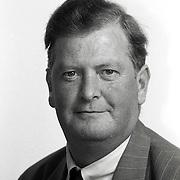 NLD/Huizen/19911114 - dhr. Goedbloed VVD raadslid gemeenteraad Huizen