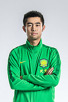 **EXCLUSIVE**Portrait of Chinese soccer player Zhang Yu of Beijing Sinobo Guoan F.C. for the 2018 Chinese Football Association Super League, in Shanghai, China, 22 February 2018.