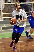 DESCRIZIONE : Pordenone Amichevole Pre Eurobasket 2015 Nazionale Italiana Femminile Senior Italia Australia Italy Australia<br /> GIOCATORE : Alessandra Formica<br /> CATEGORIA : riscaldamento<br /> SQUADRA : Italia Italy<br /> EVENTO : Amichevole Pre Eurobasket 2015 Nazionale Italiana Femminile Senior<br /> GARA : Italia Australia Italy Australia<br /> DATA : 28/05/2015<br /> SPORT : Pallacanestro<br /> AUTORE : Agenzia Ciamillo-Castoria/GiulioCiamillo<br /> Galleria : Nazionale Italiana Femminile Senior<br /> Fotonotizia : Pordenone Amichevole Pre Eurobasket 2015 Nazionale Italiana Femminile Senior Italia Australia Italy Australia<br /> Predefinita :