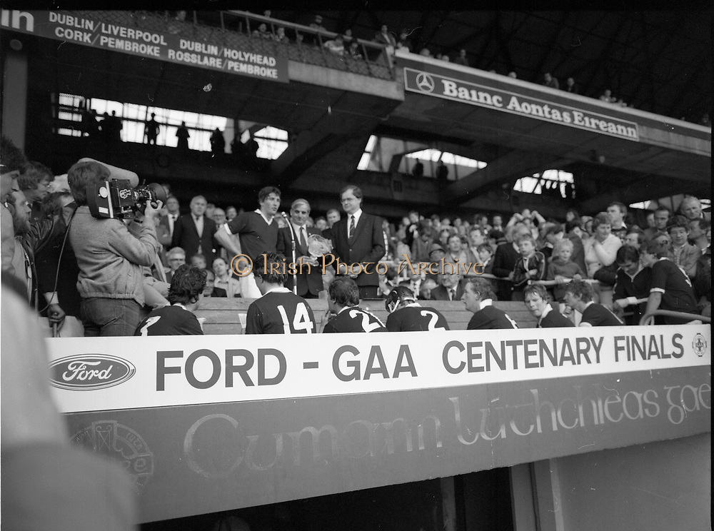 Ford G.A.A. Centenary Finals at Croke Park, Dublin,<br />