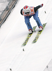 Simon Ammann (SUI) at Flying Hill Individual in 2nd day of 32nd World Cup Competition of FIS World Cup Ski Jumping Final in Planica, Slovenia, on March 20, 2009. (Photo by Vid Ponikvar / Sportida)