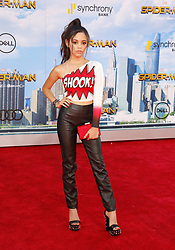 Jenna Ortega at the World premiere of 'Spider-Man: Homecoming' held at the TCL Chinese Theatre in Hollywood, USA on June 28, 2017.