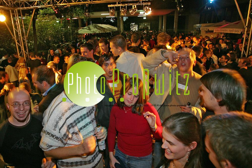 Mannheim. Berufsakademie. BA Party f&uuml;r Erstsemester<br /> <br /> Bild: Markus Pro&szlig;witz<br /> ++++ Archivbilder und weitere Motive finden Sie auch in unserem OnlineArchiv. www.masterpress.org ++++