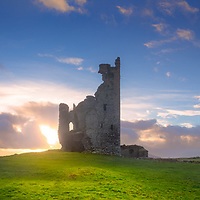Ballycarbery Castle, Cahersiveen County Kerry, Ireland