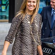 NLD/Amsterdam/20170330 - Koningin Maxima aanwezig bij de Global Money Week, Koningin Maxima
