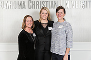 January 30, 2018: The Oklahoma Christian University Eagles host the athletic Hall of Fame induction banquet.