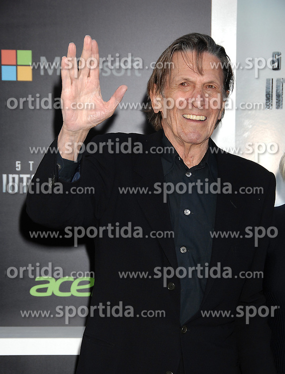 Leonard Nimoy, &quot;Star Trek Into Darkness&quot; Los Angeles Premiere, at the Dolby Theatre, May 14, 2013 - Hollywood, California. EXPA Pictures &copy; 2015, PhotoCredit: EXPA/ Photoshot/ Celebrity Photo<br /> <br /> *****ATTENTION - for AUT, SLO, CRO, SRB, BIH, MAZ only*****