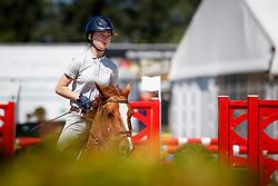 Bloemer Lynn, BEL, Karl van Ordchid's<br /> Belgisch Kampioenschap Ponies 2017<br /> Youth Festival - Azelhof - Lier 2017<br /> © Dirk Caremans<br /> Bloemer Lynn, BEL, Karl van Ordchid's
