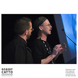 Jeff Simmonds;Phill Simmonds at the Spada Conference 06 at the Hyatt Regency Hotel, Auckland, New Zealand.<br />