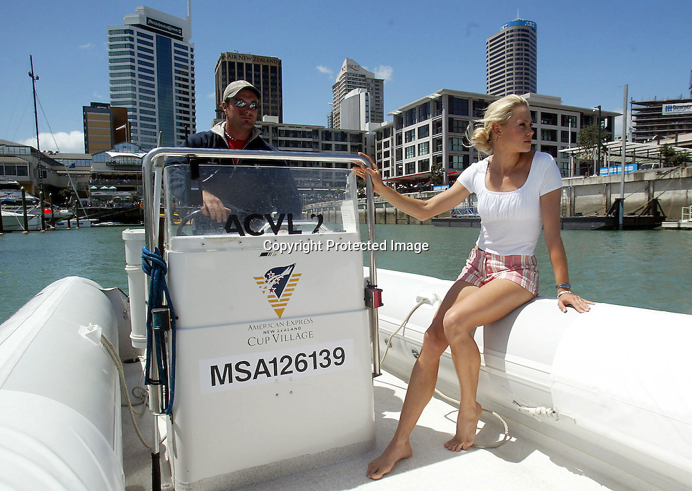 February 2003, Viaduct basin, Auckland, New Zealand<br />