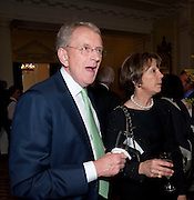 SIR CHRISTOPHER MEYER; LADY MEYER, Reception to launch American Ballet TheatreÕs  International Council in support of cross-cultural educational exchange and international touring.<br /> An educational exchange program between<br /> American Ballet Theatre and The Royal Ballet. Hosted by AMBASSADOR LOUIS B. SUSMAN, MRS. MARJORIE SUSMAN. Winfield House. Regents Park. London. 27 April 2010 *** Local Caption *** -DO NOT ARCHIVE-© Copyright Photograph by Dafydd Jones. 248 Clapham Rd. London SW9 0PZ. Tel 0207 820 0771. www.dafjones.com.<br /> SIR CHRISTOPHER MEYER; LADY MEYER, Reception to launch American Ballet Theatre's  International Council in support of cross-cultural educational exchange and international touring.<br /> An educational exchange program between<br /> American Ballet Theatre and The Royal Ballet. Hosted by AMBASSADOR LOUIS B. SUSMAN, MRS. MARJORIE SUSMAN. Winfield House. Regents Park. London. 27 April 2010