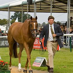 Clayton Fredericks at Burghley Horse Trials 2009
