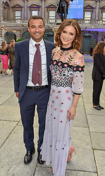 Emilia Fox and guest at The Royal Academy of Arts Summer Exhibition Preview Party 2019, Burlington House, Piccadilly, London England. 04 June 2019.