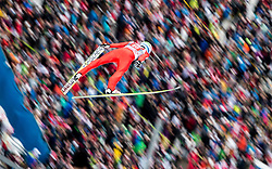 04.01.2015, Bergisel Schanze, Innsbruck, AUT, FIS Ski Sprung Weltcup, 63. Vierschanzentournee, Innsbruck, Probesprung, im Bild Anders Bardal (NOR) // Anders Bardal of Norway during the Trial Jump for the 63rd Four Hills Tournament of FIS Ski Jumping World Cup at the Bergisel Schanze in Innsbruck, Austria on 2015/01/04. EXPA Pictures © 2015, PhotoCredit: EXPA/ JFK