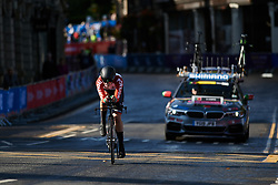 Daniela Campos (POR) at UCI Road World Championships 2019 Junior Women's TT a 13.7 km individual time trial in Harrogate, United Kingdom on September 23, 2019. Photo by Sean Robinson/velofocus.com