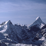 Ama Dablam photographed from Kala Patthar, Khumbu, Nepal. This is the highest point on my trek at 18,500 ft.