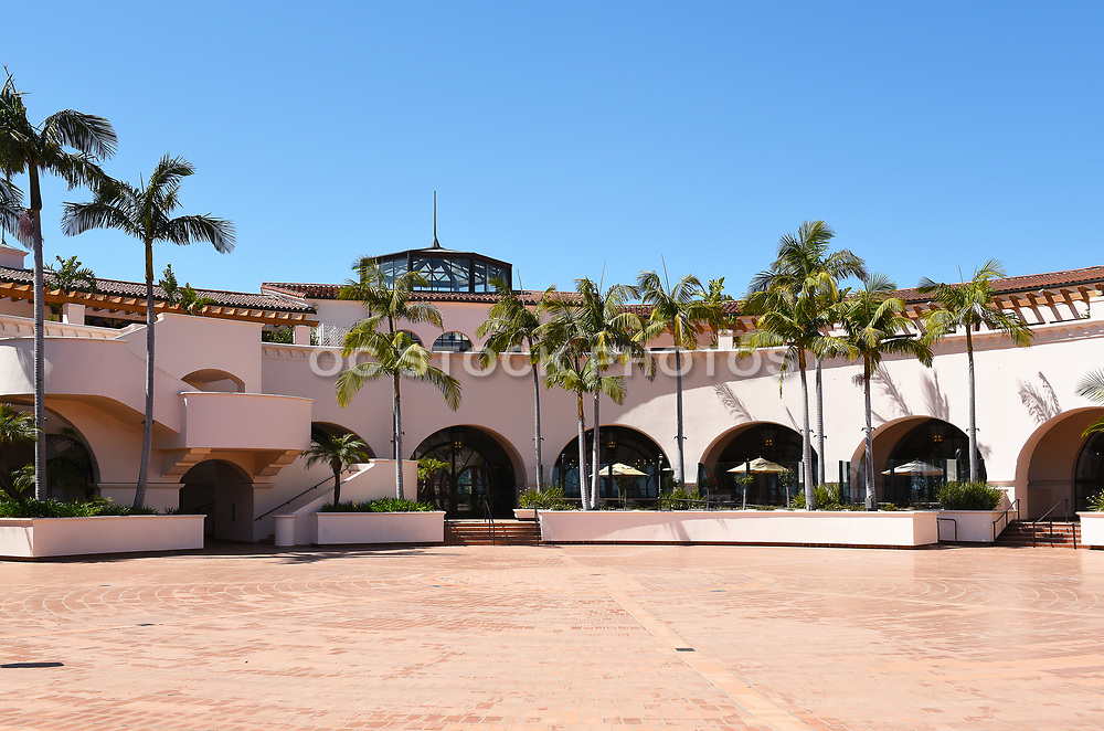 The Plaza del Sol at the Hilton Santa Barbara Beachfront Resort