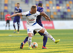 Tadej Vidmajer of Celje an Marcos Magno Morales Tavares of Maribor in action during football match between NK Maribor and NK Celje in Round #24 of Prva liga Telekom Slovenije 2018/19, on March 30, 2019 in stadium Ljudski vrt, Maribor, Slovenia. Photo by Milos Vujinovic / Sportida