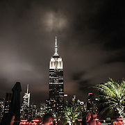 A general view of the Empire State Building in New York City on Sunday, September 27, 2015.  (Alex Menendez via AP)