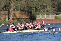 2012.02.25 Reading University Head 2012. The River Thames. Division 2. Oxford Brookes University Boat Club Sen 8+