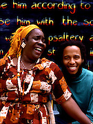 Rita Marley and Ziggy