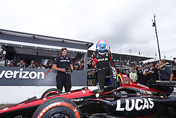 March 10, 2018 - St. Petersburg, Florida, United States of America - March 10, 2018 - St. Petersburg, Florida, USA: Robert Wickens (6) wins the pole award for the Firestone Grand Prix of St. Petersburg at Streets of St. Petersburg in St. Petersburg, Florida. (Credit Image: © Justin R. Noe Asp Inc/ASP via ZUMA Wire)