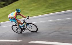 06.07.2016, Heiligenblut, AUT, Ö-Tour, Österreich Radrundfahrt, 4. Etappe, Rottenmann zur Edelweissspitze, im Bild Alessandro Vanotti (ITA, Astana Pro Team) // Alessandro Vanotti (ITA Astana Pro Team) during the Tour of Austria, 4th Stage from Rottenmann to Edelweissspitze. Heiligenblut, Austria on 2016/07/06. EXPA Pictures © 2016, PhotoCredit: EXPA/ JFK