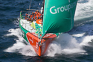 FRANCE, Lorient. 1st July 2012. Volvo Ocean Race, Start Leg 9 Lorient-Galway. Groupama Sailing Team.