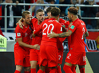 england celebrates after penalty scored by Harry Kane <br /> Moscow 03-07-2018 Football FIFA World Cup Russia 2018 <br /> Colombia - England / Colombia - Inghilterra<br /> Foto Matteo Ciambelli/Insidefoto