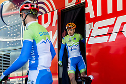 Jan Tratnik of Slovenia prior to the Men's Elite Road Race a 258.5km race from Kufstein to Innsbruck 582m at the 91st UCI Road World Championships 2018 / RR / RWC / on September 30, 2018 in Innsbruck, Austria. Photo by Vid Ponikvar / Sportida