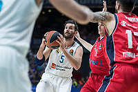 Real Madrid Rudy Fernandez during Turkish Airlines Euroleague match between Real Madrid and Baskonia Vitoria at Wizink Center in Madrid, Spain. January 17, 2018. (ALTERPHOTOS/Borja B.Hojas)