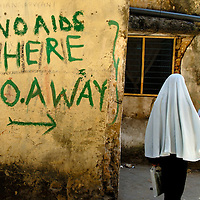 'No AIDS here - go away'