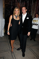 NADJA SWAROVSKI and her husband RUPERT ADAMS at the British Fashion Awards 2006 sponsored by Swarovski held at the V&A Museum, Cromwell Road, London SW7 on 2nd November 2006.<br />