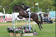 Rosie Fry on Augusta Firefly during the International Horse Trials at Chatsworth, Bakewell, United Kingdom on 11 May 2018. Picture by George Franks.