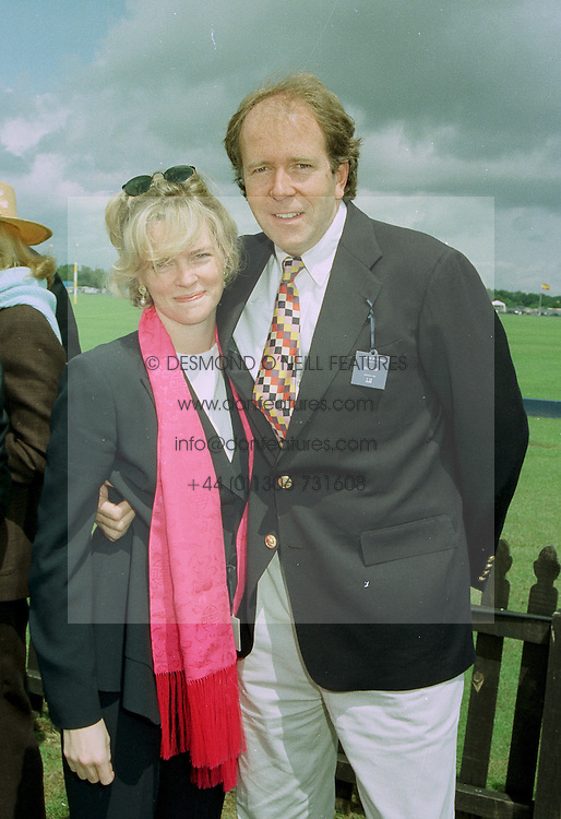 LORD & LADY BRUCE DUNDAS, she is designer Ruth Kennedy, at a luncheon in Berkshire on 22nd June 1997.LZN 72