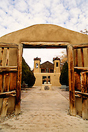 El Santuario de Chimayo, Chimayo, New Mexico, National Historic Landmark, southwest of Taos, 1814-1816