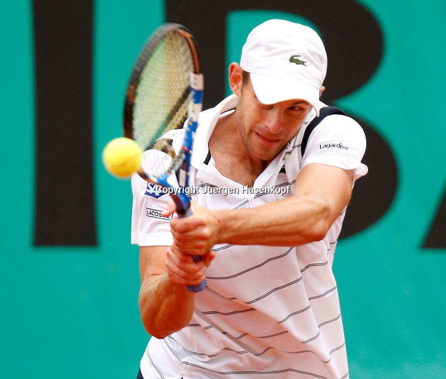French Open 2010, Roland Garros, Paris, Frankreich,Sport, Tennis, ITF Grand Slam Tournament, ..Andy Roddick (USA)..Foto: Juergen Hasenkopf..