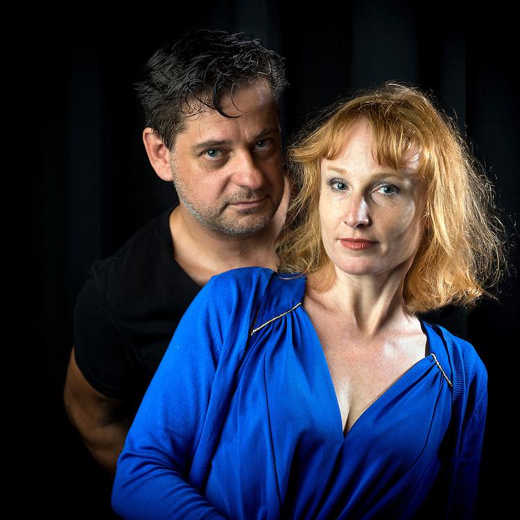 Valentin Rossier et Marie Druc au Th&eacute;atre de L'Orangerie. <br /> Gen&egrave;ve 08.06.2015<br /> &copy;Nicolas Righetti/ Lundi13