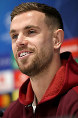 Liverpool Training and Press Conference - 18 Feb 2019