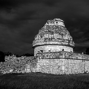 Chichen Itza # 2 Observatory building. Chichen Itza. Yucatan, Mexico.