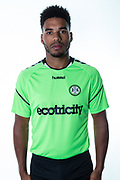 Forest Green Rovers Reuben Reid during the 2018/19 official team photocall for Forest Green Rovers at the New Lawn, Forest Green, United Kingdom on 30 July 2018. Picture by Shane Healey.