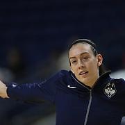 Breanna Stewart, UConn, warming up during the UConn Vs DePaul, NCAA Women's College basketball game at Webster Bank Arena, Bridgeport, Connecticut, USA. 19th December 2014