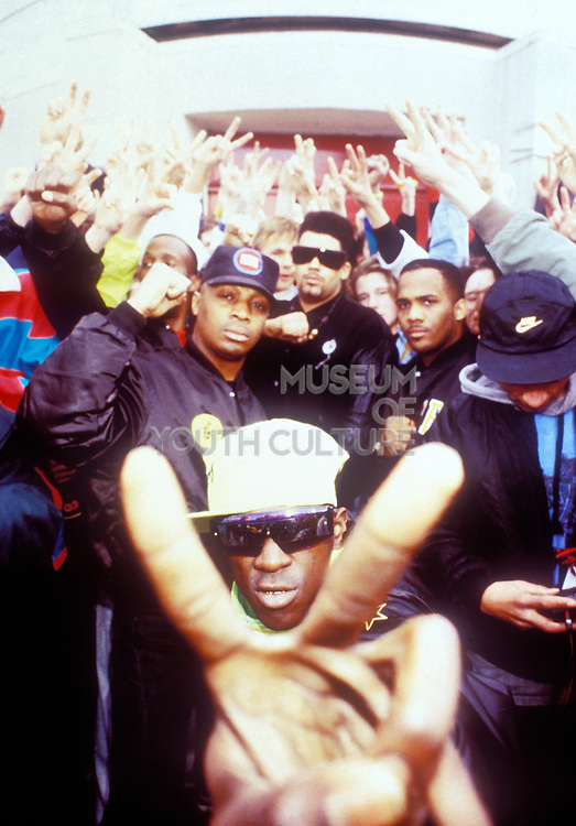 Public Enemy, USA, 1987.