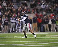 Ole Miss quarterback Jeremiah Masoli (8) vs. Louisiana-Lafayette in Oxford, Miss. on Saturday, November 6, 2010. Ole Miss won 43-21.