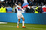 Mariano Diaz of Lyon during the French Championship Ligue 1 football match between Olympique Lyonnais and AS Saint-Etienne on february 25, 2018 at Groupama stadium in Décines-Charpieu near Lyon, France - Photo Romain Biard / Isports / ProSportsImages / DPPI