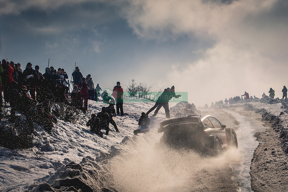January 27, 2018 - Monaco, France - French driver SEBASTIEN OGIER finished Saturday in the lead competing for M-Sport Ford during WRC Rallye Monte Carlo. (Credit Image: © Panoramic via ZUMA Press)