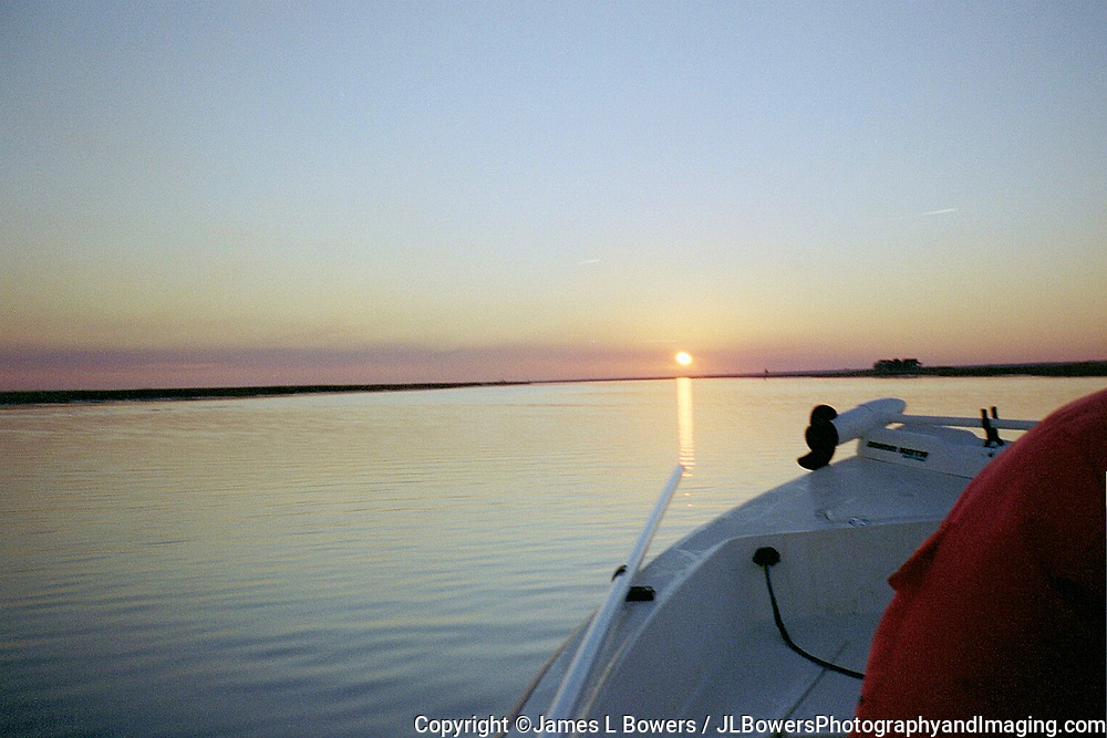 Bulls Bay ICW February Sundown