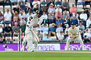 Shikhar Dhawan of India batting during day two of the fourth SpecSavers International Test Match 2018 match between England and India at the Ageas Bowl, Southampton, United Kingdom on 31 August 2018.