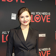 NLD/Amsterdam/20181126 - premiere All You Need Is Love, Barbara Sloesen
